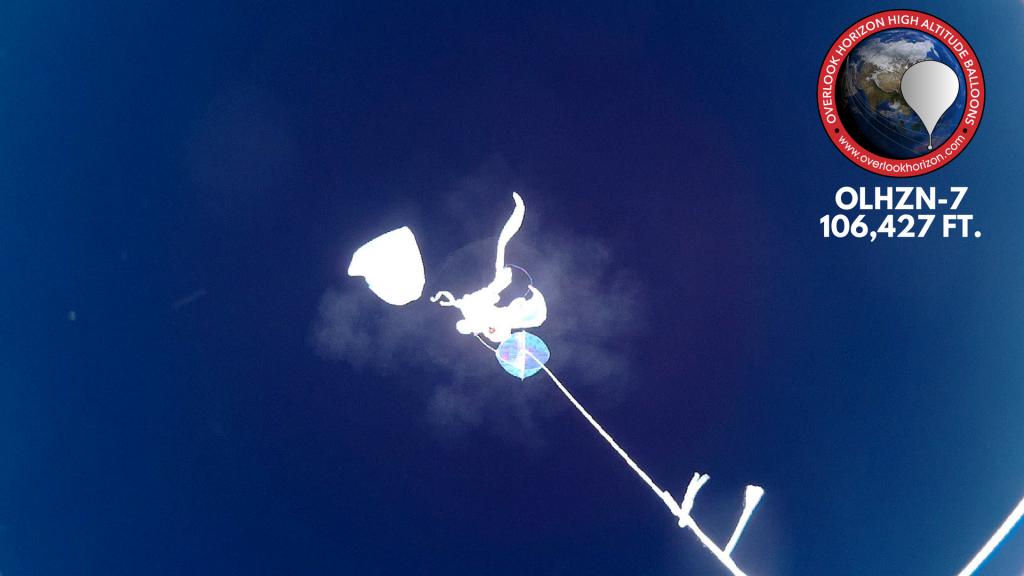 OLHZN-7 Weather Balloon Burst