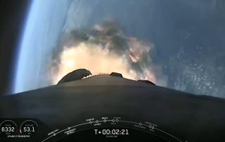 SpaceX Starlink Engine Failure
