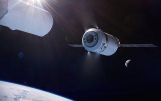SpaceX Dragon XL NASA Lunar Gateway