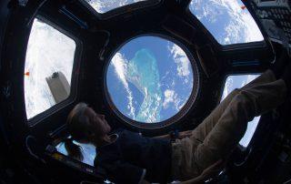 NASA Astronaut Shannon Walker on the International Space Station