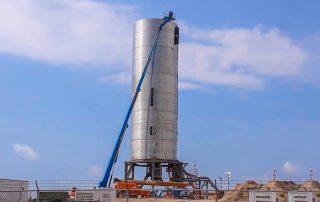 SpaceX Starship SN4 Cryo Proof Test